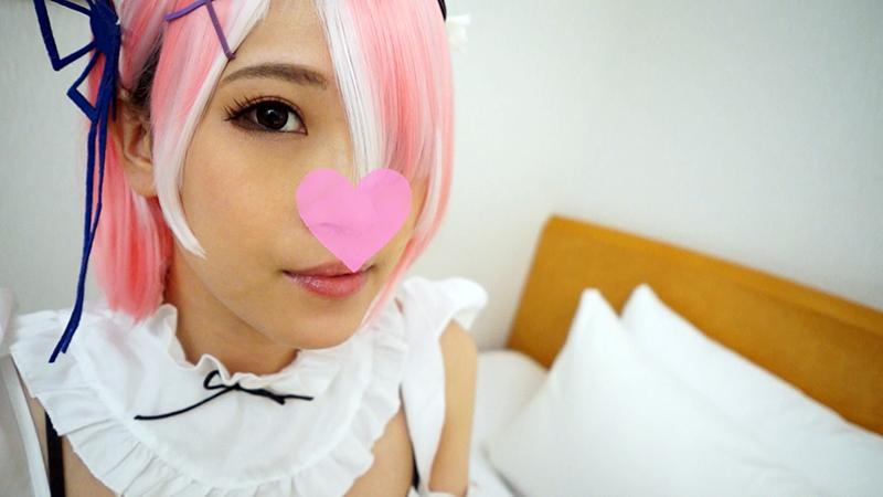 FC2 PPV 1552271 Rezero Lamb / Beautiful girl maid serves with a throat blow job. A large amount of tide