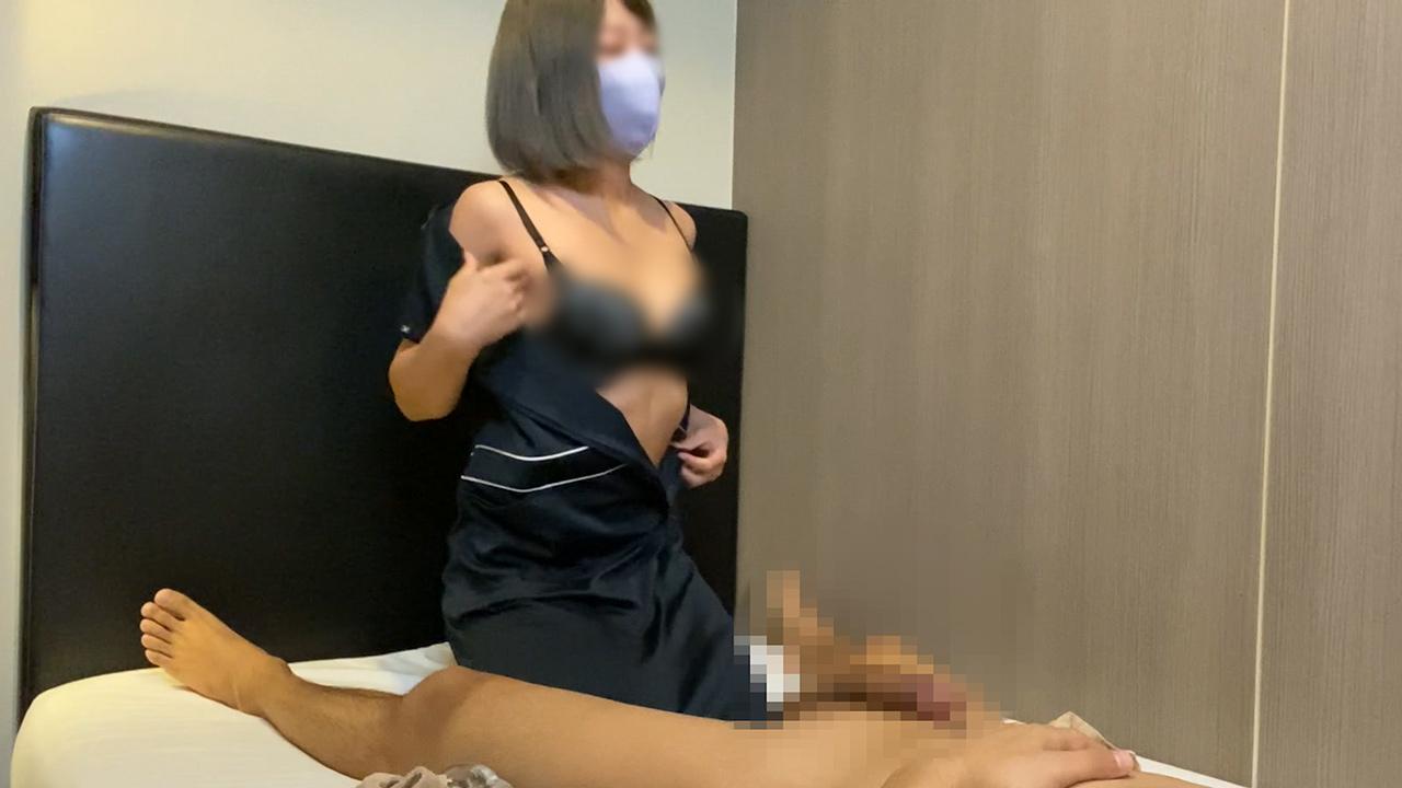 FC2 PPV 1540791 出張ローション手コキ隠し撮り・全身下着&乳首なめオプション【S級美女・真中(30歳)】