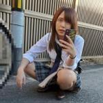 【個撮】県立普通科③自転車通学のギャル・3P中出し嫌がりながらも微かにこぼれる喘ぎ